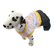 New Pullover Style Trousers Clothes for Pet Dog