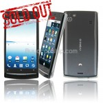 4 inch Android 2.2 Ultra-thin PDA Smart Phone - GPS TV Black
