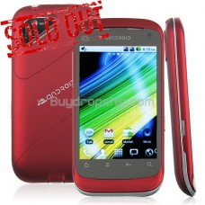 3.5 Inch Quadband Android 2.2 SmartPhone - A-GPS WiFi TV RED