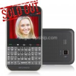 2.5 Inch Android 2.3 QWERTY Smart Phone - TV WiFi GPS
