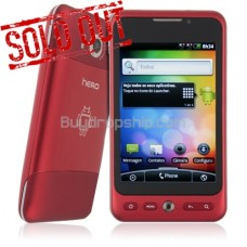 3.5 Inch Quad Band 2-SIM Android 2.2 Smart Phone GPS TV RED