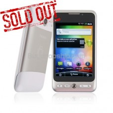3.5inch Quad Band Android 2.2 Smartphone 2-SIM GPS TV Silver