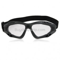 New Tactical goggles Protect Eyes - Black Frame