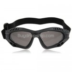 Tactical goggles Protect Eyes - Gray Lens Black Frame