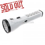 17 high-bright and energy-saving LED Rechargeable Torch