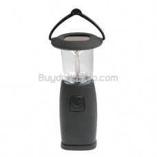 6 LED Solar Power Lantern - Hand Crank Camping Light
