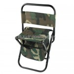 Military Army Style Outdoor Camp Foldable Chair With Pouch