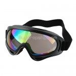 Fashion Sports Ski Goggles Color Coated Lens Black Frame