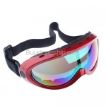 Basto Anti-Fog Dual Colorful Lens Ski Snowboard Goggles RED