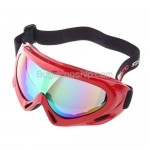 Basto Anti-Fog Dual Colorful Lens Snowboard Ski Goggles Red