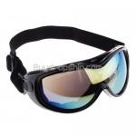 Basto Black Anti-Fog Dual Colorful Lens Ski Snowboard Goggle