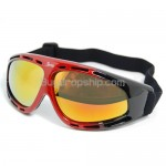 Black&Red Basto Snowboard Ski Goggles Anti-Scratch Anti-Fog