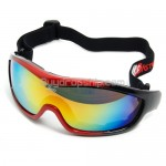 Basto Black&Red Snowboard Ski Goggles Anti-Fog Anti-Scratch