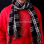 Outdoors Stylish - Unisex Checkered Pattern Style Scarf