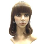 Rinka BOB Style Synthetic Hair Inner Wavy Wigs Hairpieces