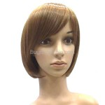BOB Short Hair with Thick Tilted Wigs Hairpieces