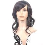 Graceful Long Hair with Tilted Bang Wigs Hairpieces