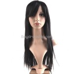 Capless Synthetic Heat-Resistant Fiber Straight Wigs Hairpiece