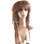 Long Straight Hair Synthetic with Fringe Bang Wigs Hairpiece