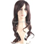 Vibrant Stylish Synthetic Hair Long Curl Wigs Hairpieces
