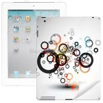 Protective Colored Skin Sticker Paster Back Cover for iPad 2