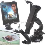 Swivel Car Mount Holder Adjustable Stand Console for iPad 2 Tablet PC