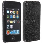 Hard Case Water Textured Chrome Plating for iPhone 4 4G