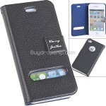 Leather Protective Pouch Bag Flip Case with Magnetic for iPhone 4 4S