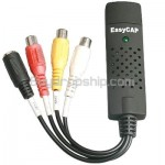 Easy CAP TV DVD Video Capture Adapter USB 2.0 - Audio for Laptop