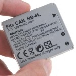 Battery NB-4L for Canon Digital 50 40 IXUS 40 30 PowerShot SD200