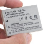Battery NB-5L for Canon IXUS 800IS IXY 800 IS PowerShot SD700 IS