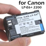 Li-ion Battery LP-E6 for Canon EOS 5D Mark II EOS 70D