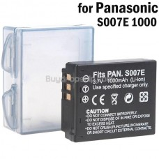 Battery S007E for Panasonic Lumix DMC-TZ1 Series Digital Camera