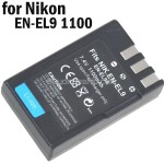 Rechargeable Li-ion Battery EN-EL9 for Nikon D40 D40X D60