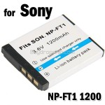 Rechargeable Li-ion Battery NP-FT1 for Sony Digital Cameras