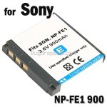 Battery NP-FE1 for Sony DSC-T7 DSC-T7/B DSC-T7/S Digital Camera
