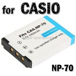 Li-ion Battery NP-70 for CASIO EX-Z150 Digital Camera