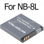 Digital Camera NB-8L NB8L Li-ion Battery for Canon PSA3000 A3100
