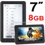 7inch 8GB E-Book Reader PDF Reader Voice Recorder Media Player