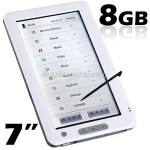7 inch 8GB E-Book Reader Media Player PDF Reader Voice Recorder