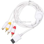 Game Console Composite AV RCA S-Video Cable for Nintendo Wii