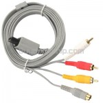 Composite S-Video & RCA AV Cord Cable for Nintendo Wii Console