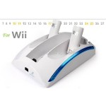 All-in-One Power Dock Station 2 Battery Pack for Nintendo Wii