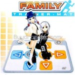 Family Trainer Dance Dancing Mat Pad Controller for Nintendo Wii