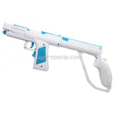 2 in 1 Motion Function Vibrative Rumble Blaster Light Gun for Wii