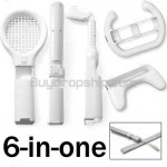 Sports Accessories Pack Bundle for Nintendo Wii Remote