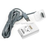 USB Plug 4800mAh Rechargeable Battery Pack for XBOX 360 Controller