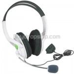 Stereo Ear-cup Headset Headphone Microphone for XBOX 360