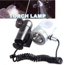 Multi-Use 7-LED White Light Torch Lamp for Car