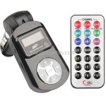 Car MP3 Player Wireless FM Transmitter USB Jack SD MMC Slot